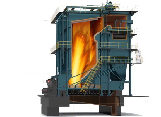 DHL Coal Fired Hot Water Boiler