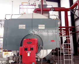 15 Tons WNS Condensing Gas Boiler Project