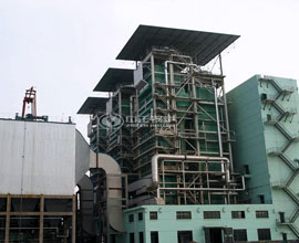 17.5MW SHX Series CFB Hot Water Boiler Project