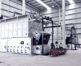 10.5MW SZL Coal Fired Hot Water Boiler Project